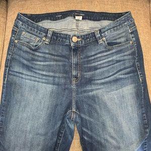 EUC Lane Bryant Skinny Jeans Size 20.
